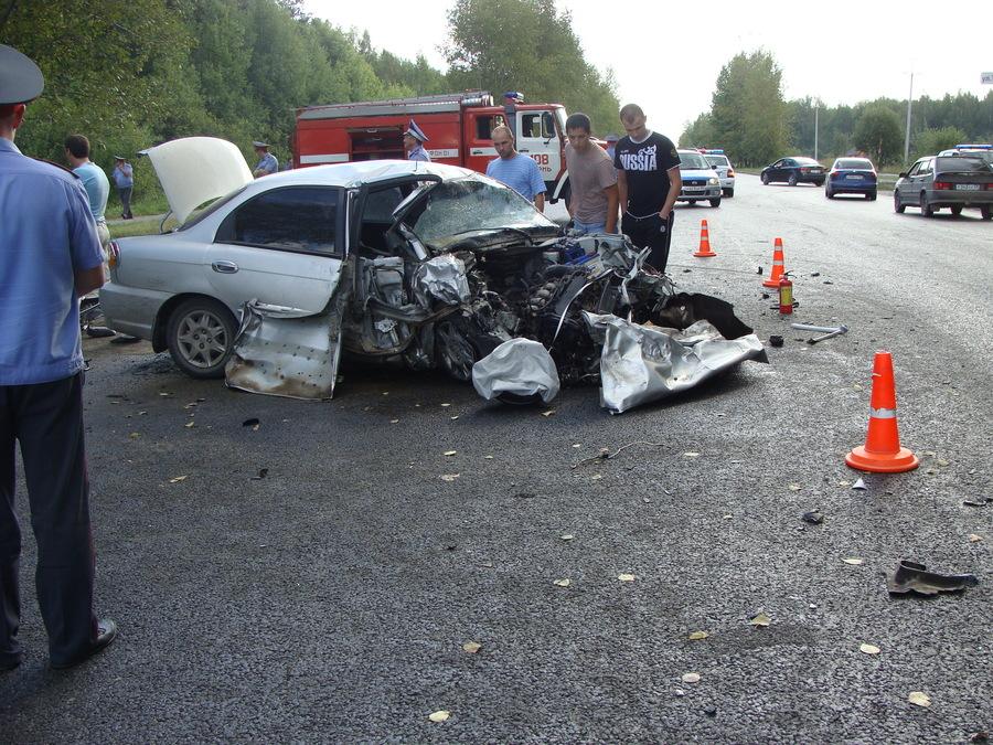 В Перми сегодня в автоаварии погибли 5 человек - фото 1