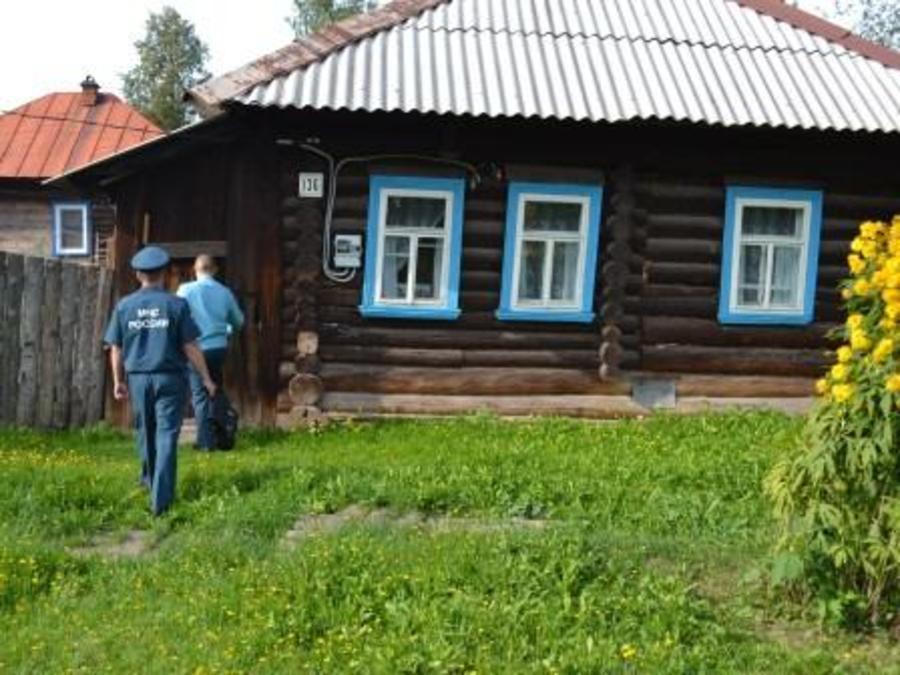 В Перми пожарные обнаружили образцово-показательную печь