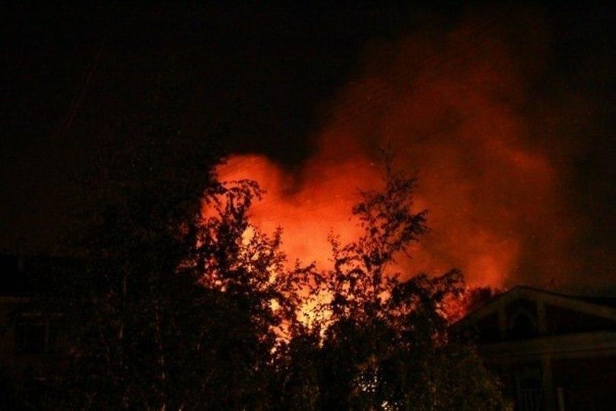 В Перми сгорел корпус педагогического университета