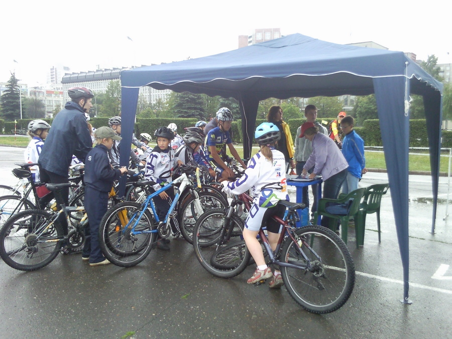В Перми прошёл праздничный велопробег