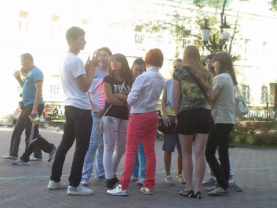 В Перми прошёл танцевальный флешмоб