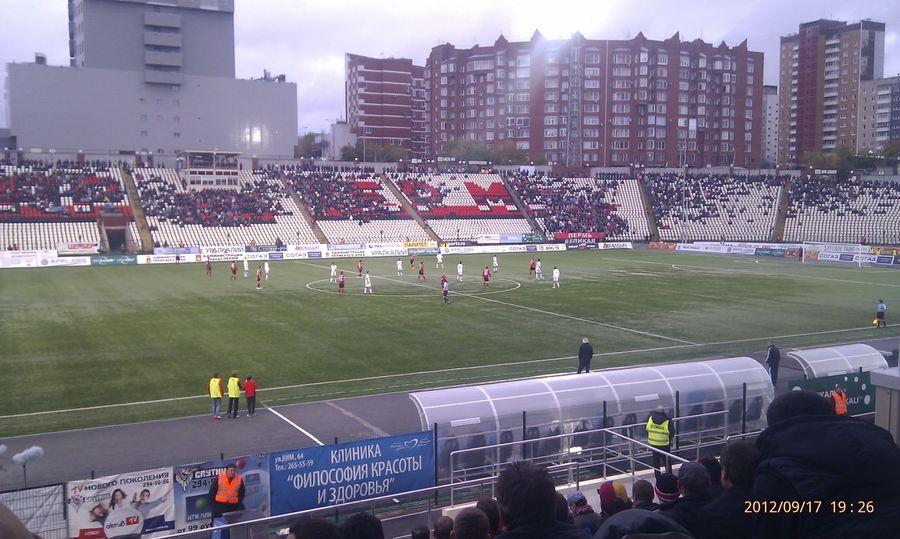 Пермский «Амкар» потерпел сотое поражение в Премьер-Лиге