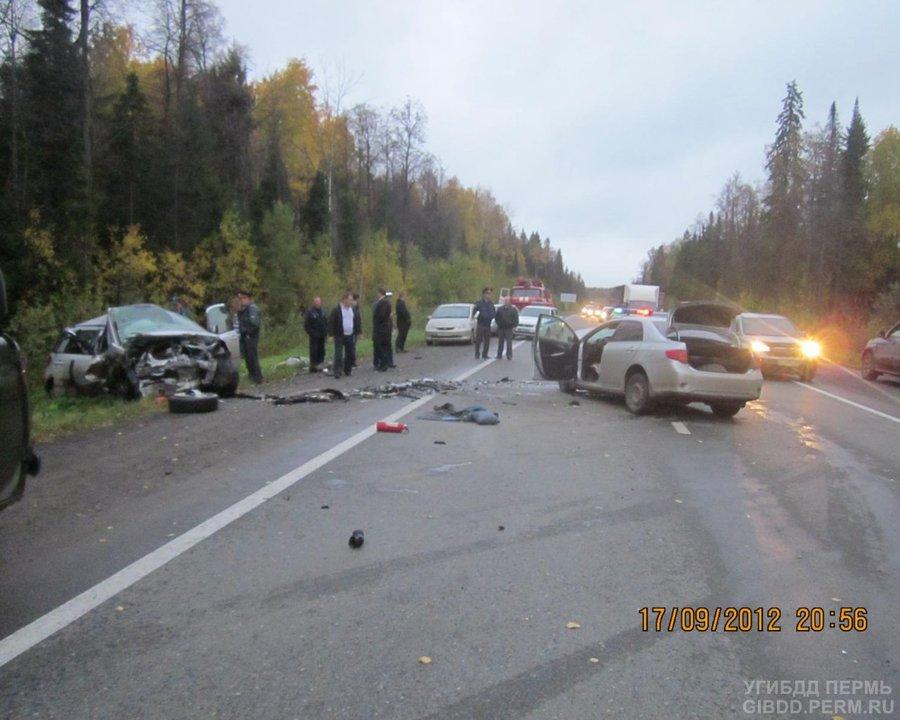В Перми на Восточном обходе погиб водитель Сузуки - фото 1