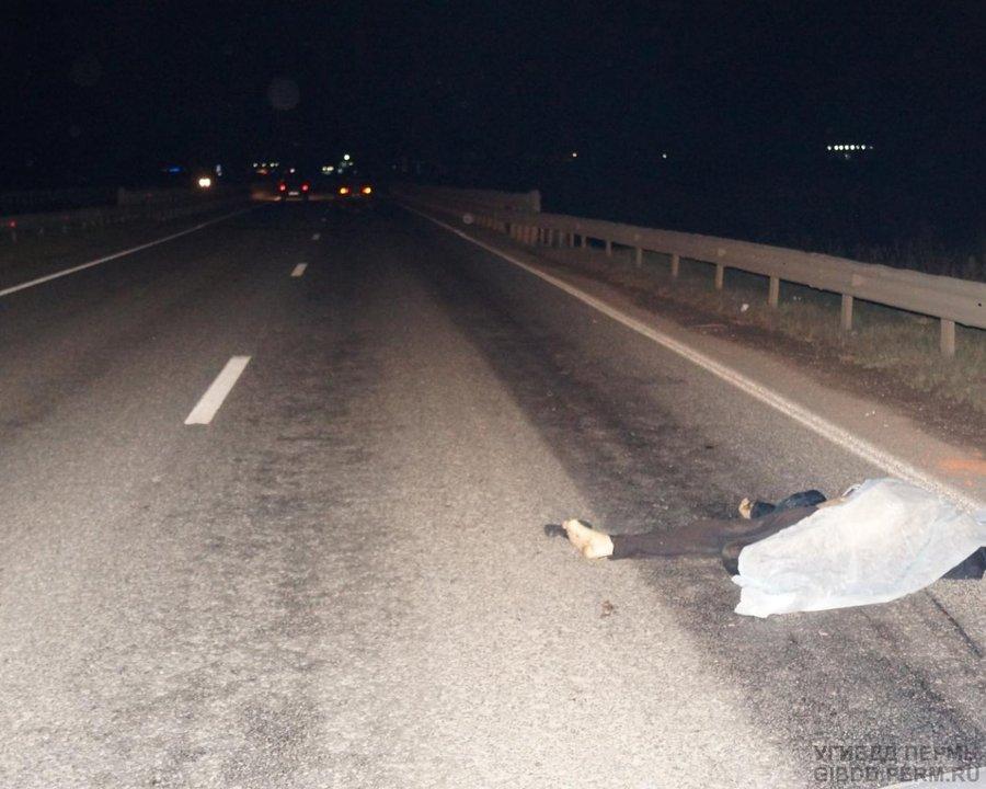 В Пермском районе пешеход скончался на проезжей части - фото 1