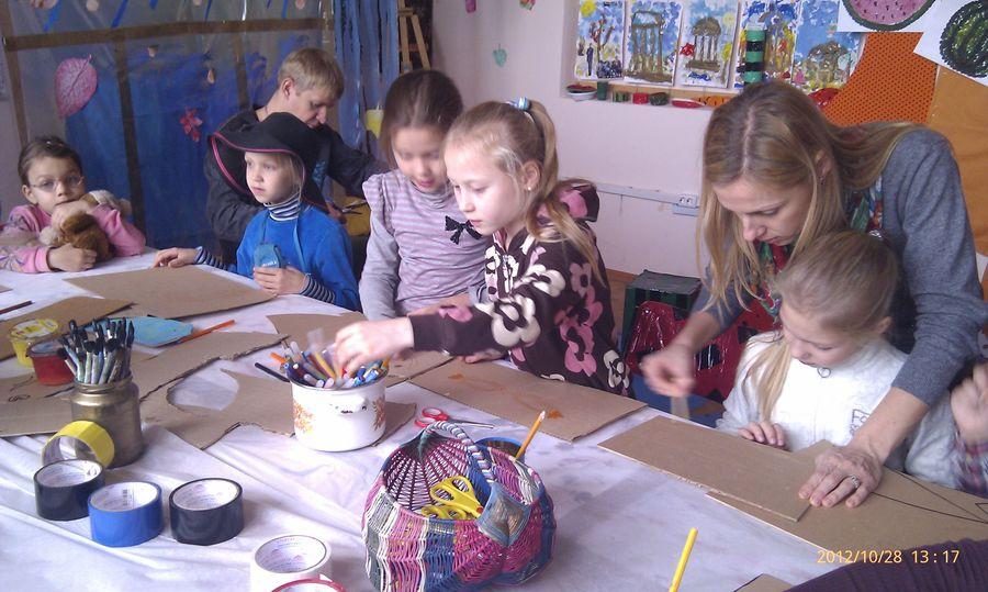 В пермском музее PERMM дети готовились к Хэллоуину