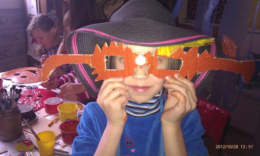 В пермском музее PERMM дети готовились к Хэллоуину - фото 8