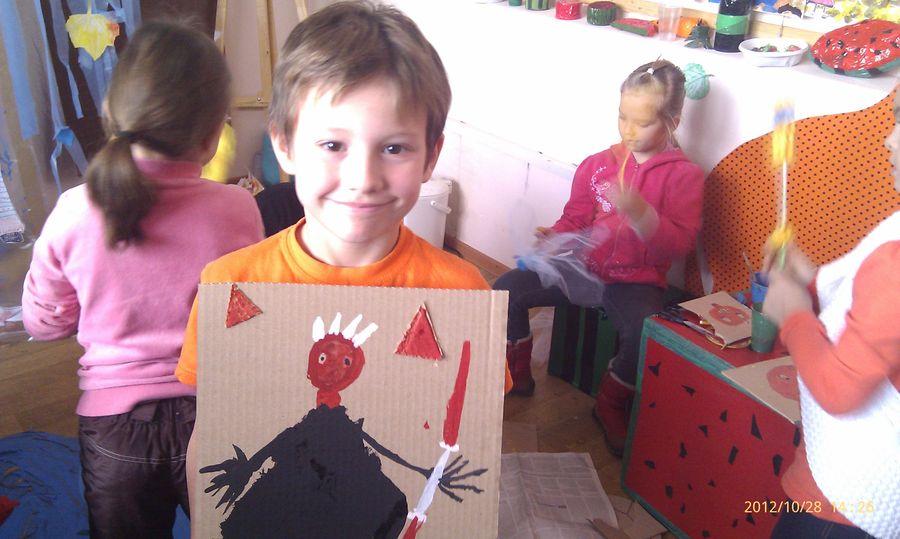 В пермском музее PERMM дети готовились к Хэллоуину - фото 11