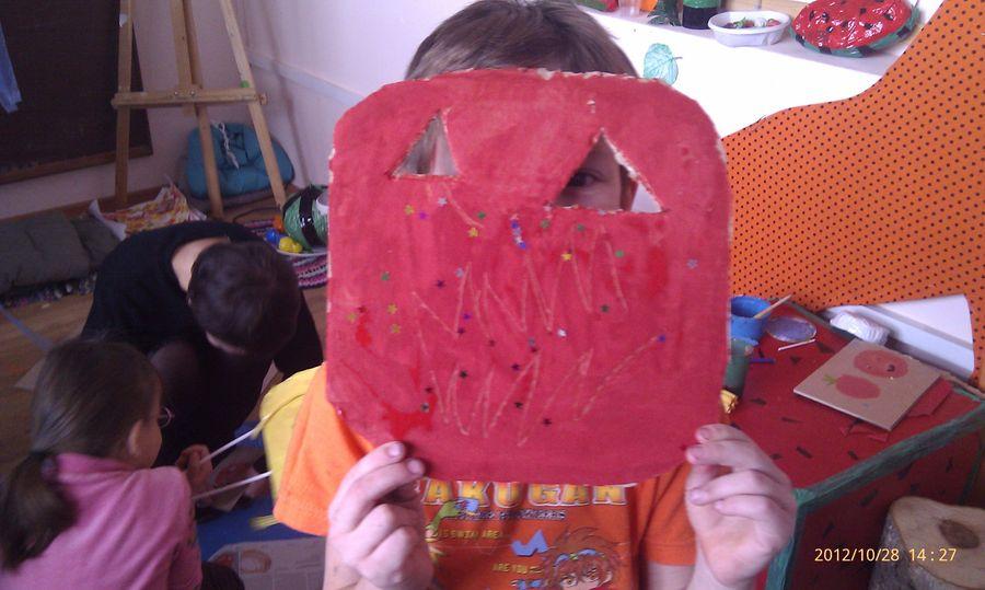 В пермском музее PERMM дети готовились к Хэллоуину - фото 12