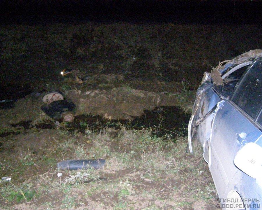 В Чусовском районе погиб водитель Короллы