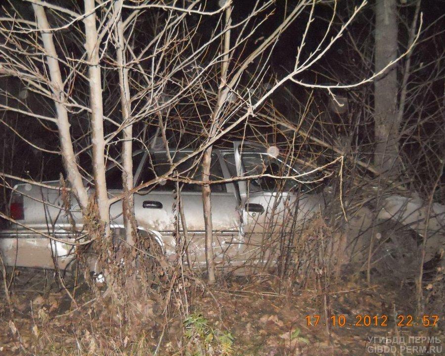 В Перми погиб водитель Дэу Нексия - фото 1