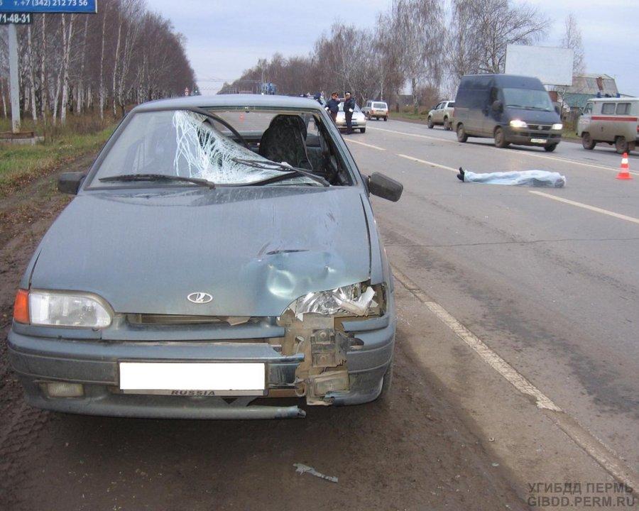 В Индустриальном районе Перми насмерть сбит пешеход