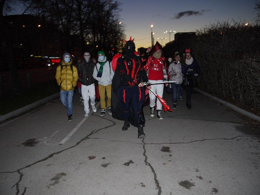 Темные силы посетили Пермь
