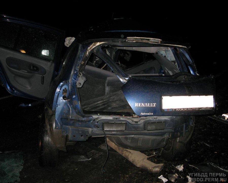 В ДТП в Краснокамском районе два человека погибли, трое ранены - фото 1