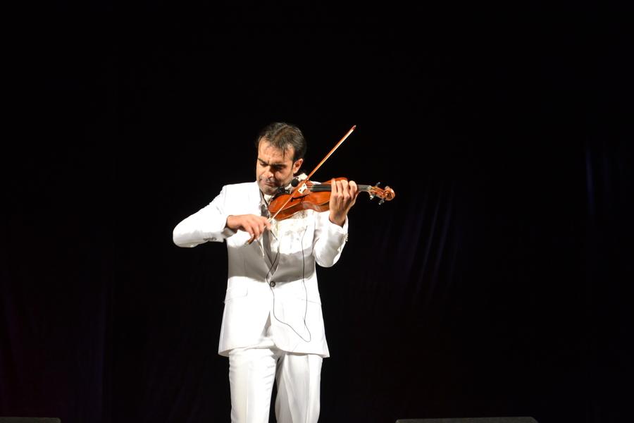 Скрипач Анар Юсифов выступил в Перми в одиночку - фото 7