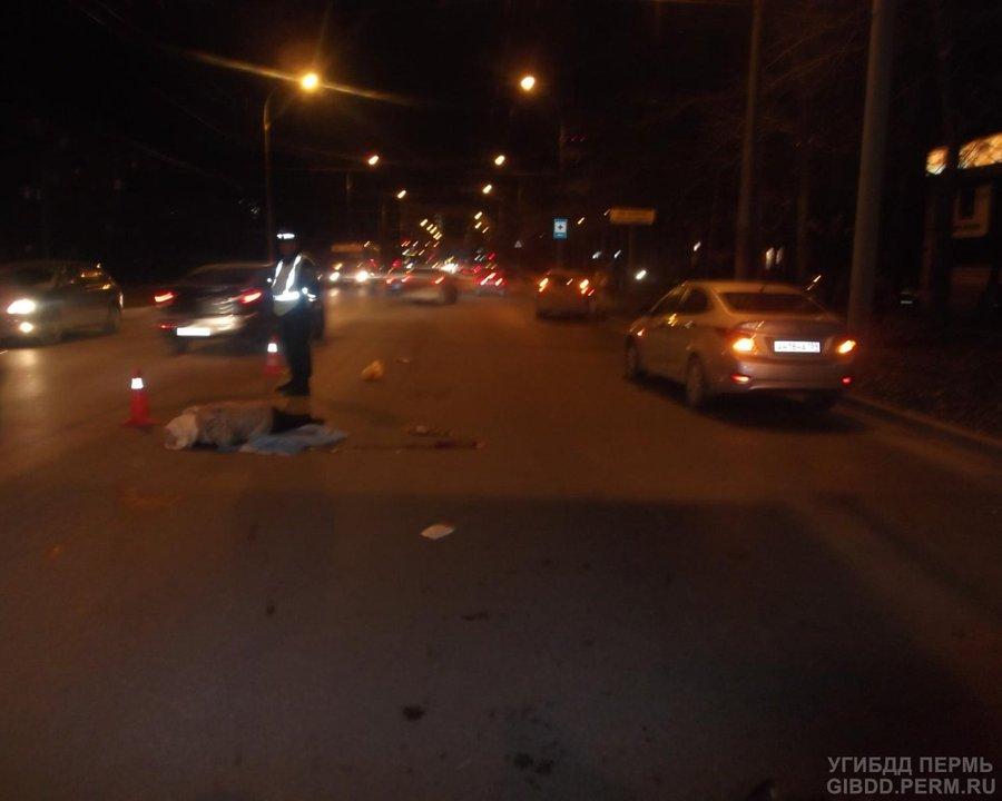 В Перми Хендаем Солярис убило пенсионерку