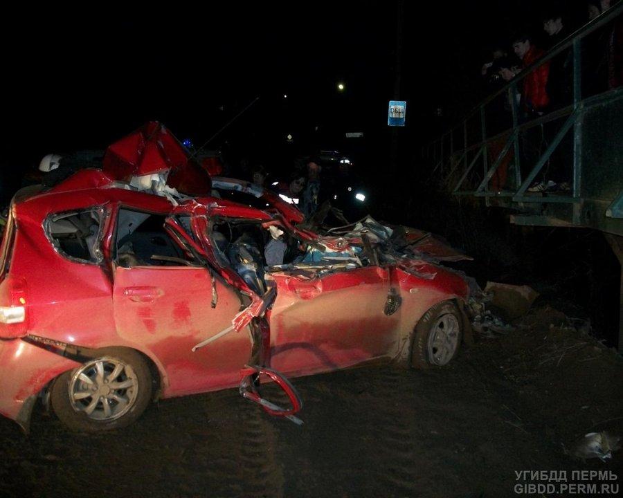 В Очере в ДТП один человек погиб, двое госпитализированы - фото 1
