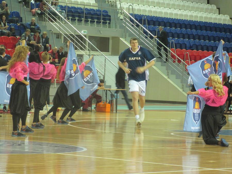 Пермская баскетбольная команда «Парма» одержала победу - фото 1