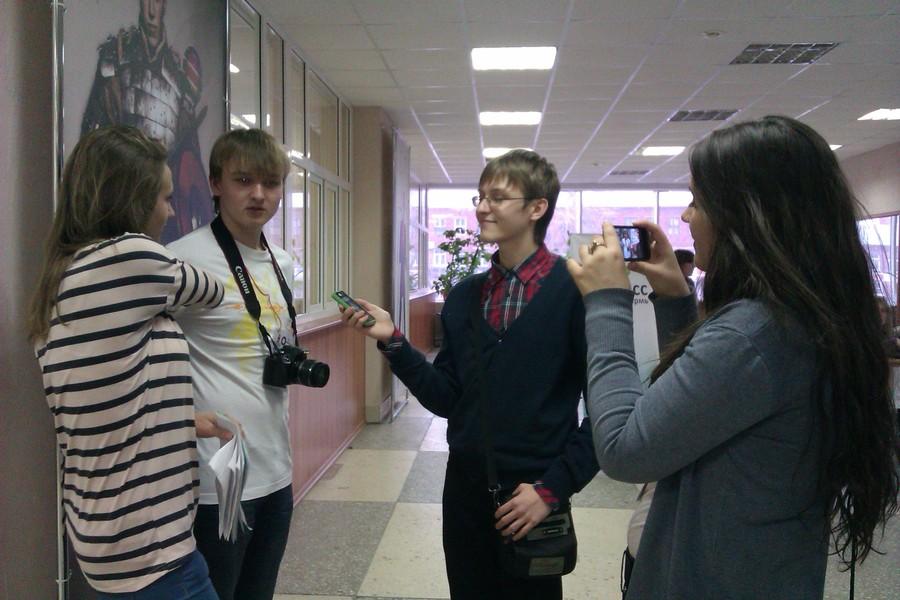 Начинающие журналисты «отрываются» на форуме в Перми