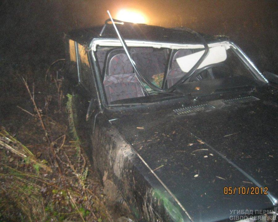 В Уинском районе погиб водитель ВАЗа
