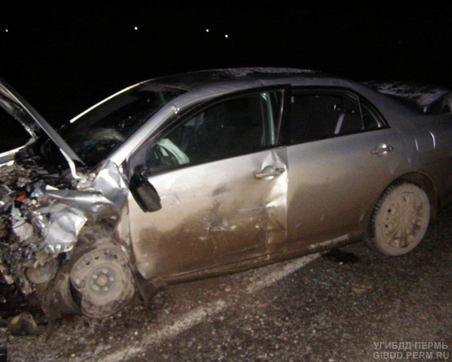 В Бардымском районе в ДТП ранены 4 человека