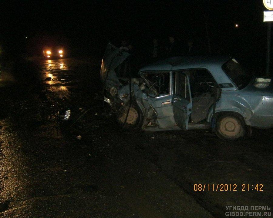 В Чайковском произошло ДТП с участием трех автомобилей - фото 1