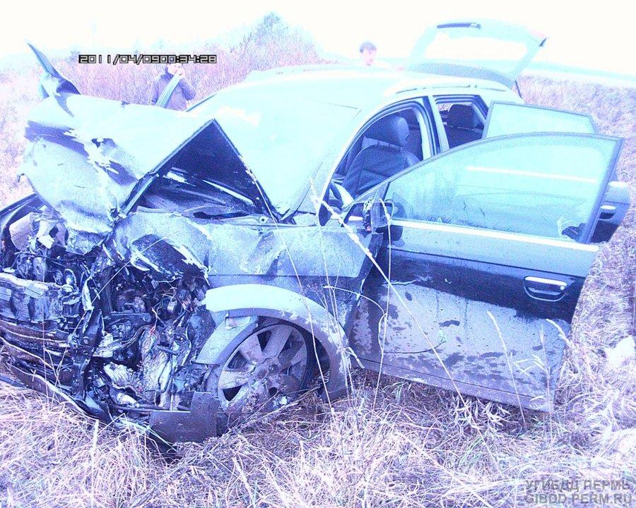В Ильинском районе в ДТП погиб водитель ВАЗа, три человека травмированы