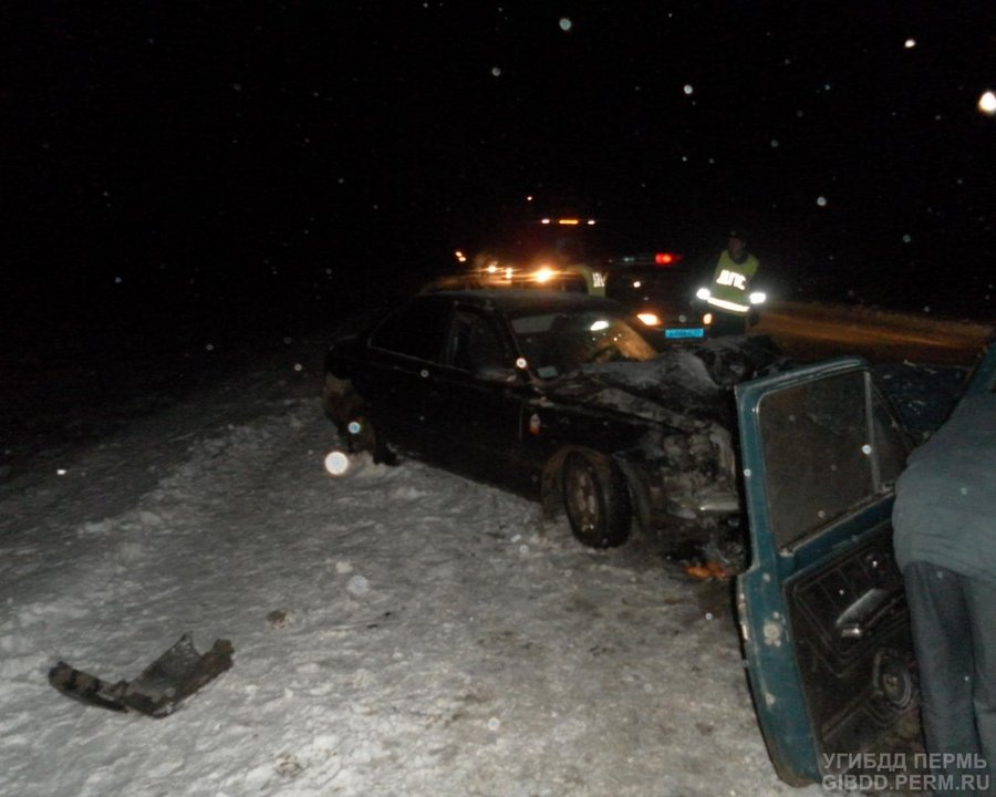 На федеральной трассе Пермь — Екатеринбург в ДТП ранены пять человек