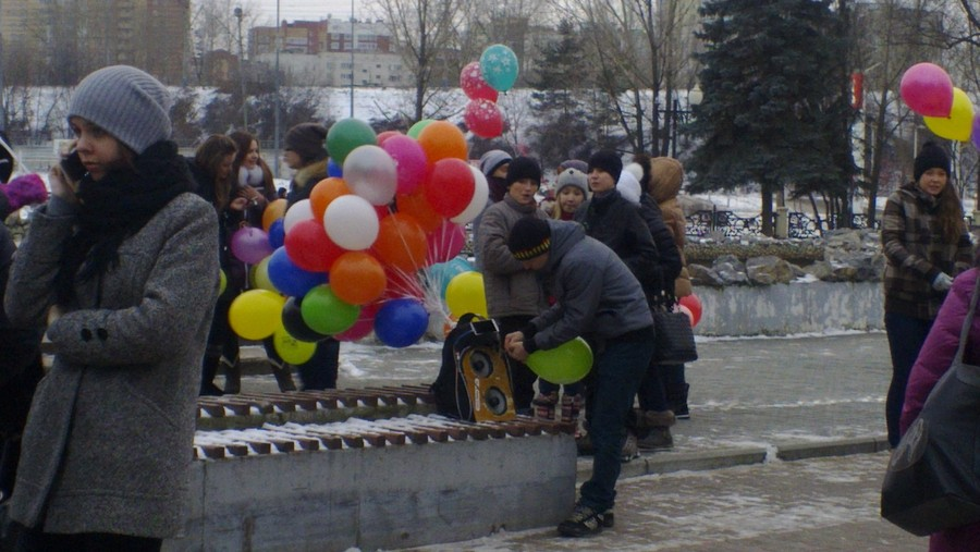 Праздник цвета и шаров в Перми