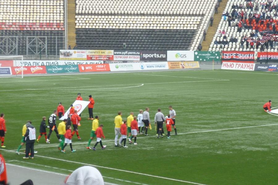 «Амкар» - «Кубань» сыграли со счётом 0:3
