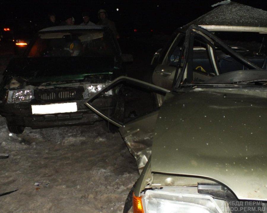 В Соликамском районе в ДТП погибла девушка-пассажир