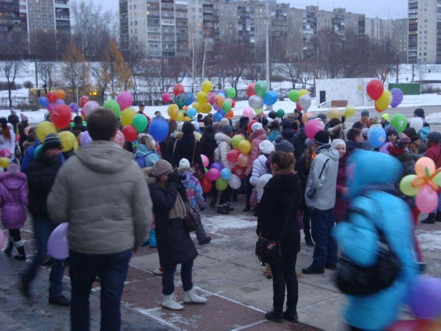 В Перми состоялось нашествие шаров