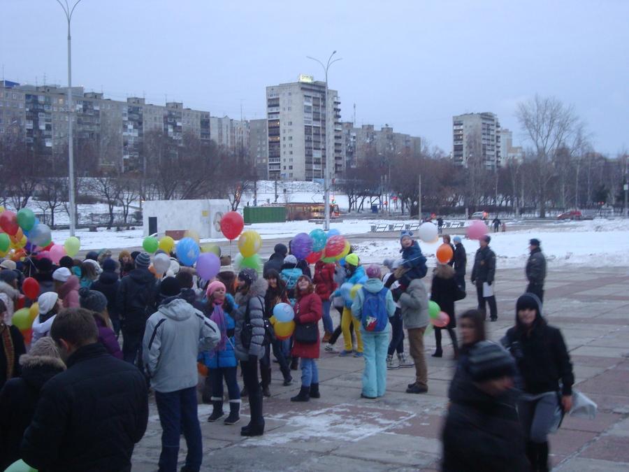 В Перми состоялось нашествие шаров - фото 2