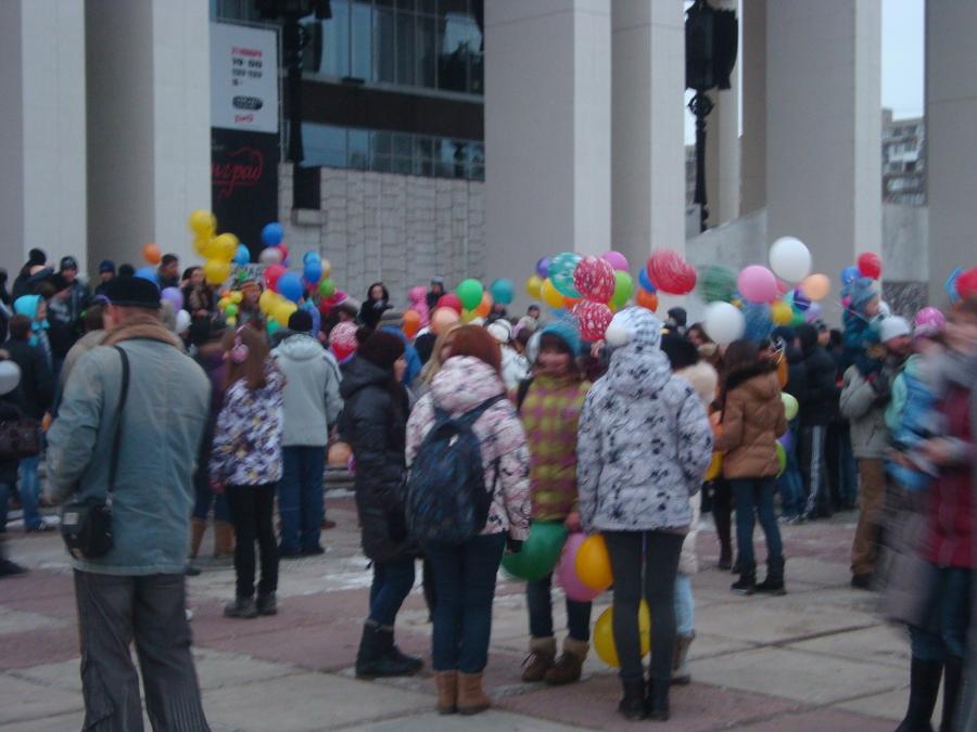 В Перми состоялось нашествие шаров - фото 6