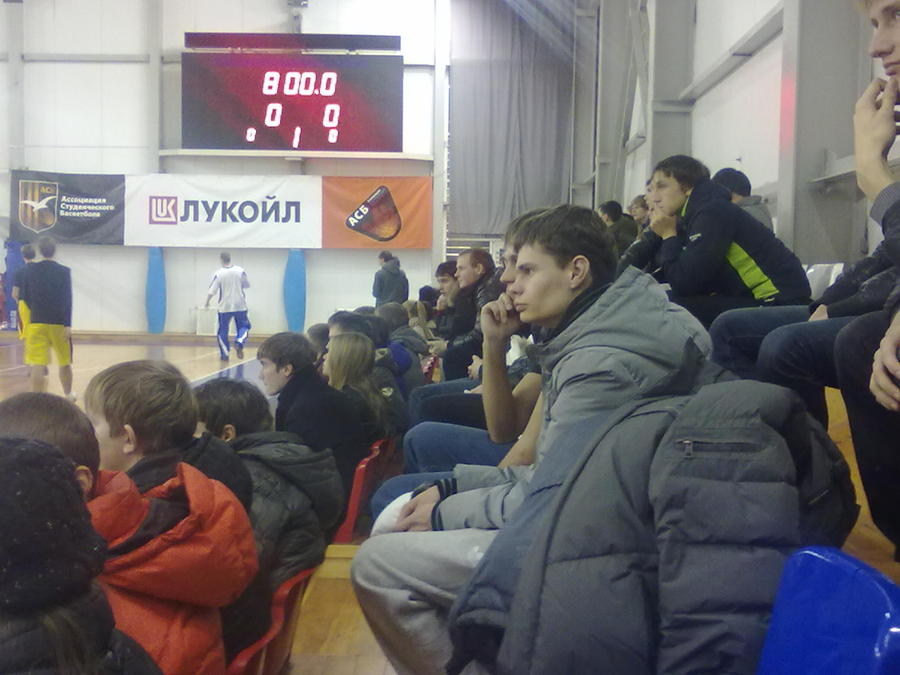 В Пермском политехе факультеты выясняют отношения баскетболом