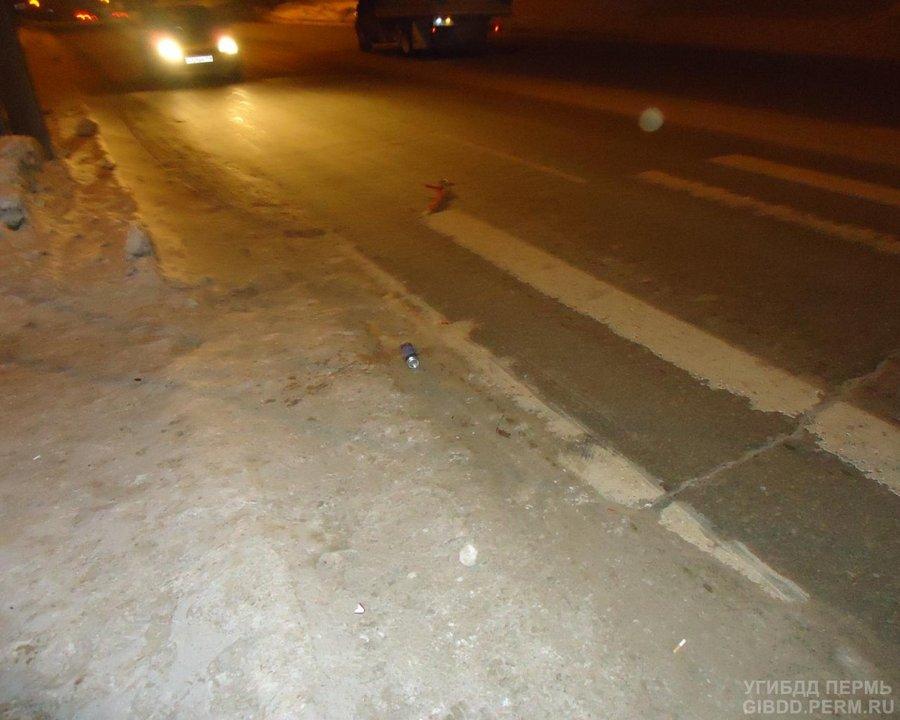 В Березниках водитель без прав сбил насмерть мужчину - фото 1