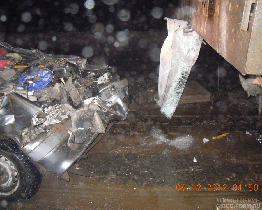В Чернушинском районе в ДТП погибли две женщины - фото 1
