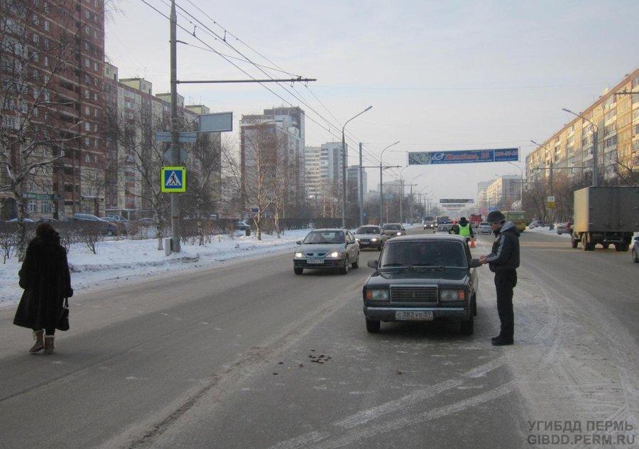 В Дзержинском районе «семерка» наехала на шестиклассницу - фото 1