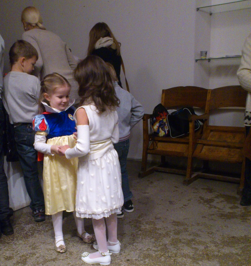 Современное искусство пугает детей