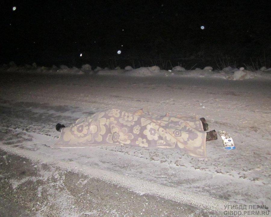 В Перми под колесами Скании погиб пешеход