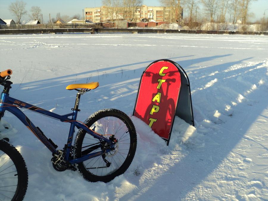 Соликамцы готовят сани к лету, а велосипеды к зиме