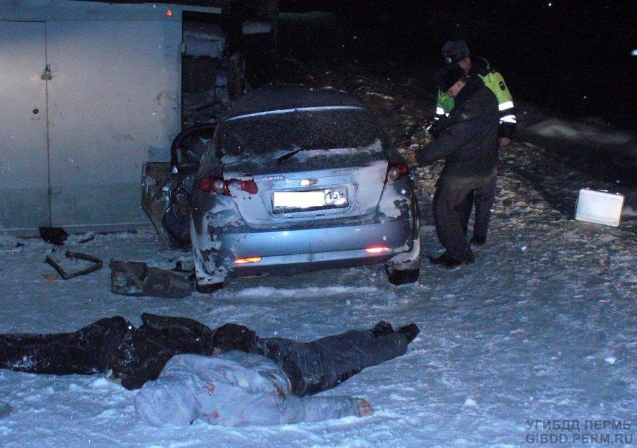 В Чусовом в ДТП погибли два человека