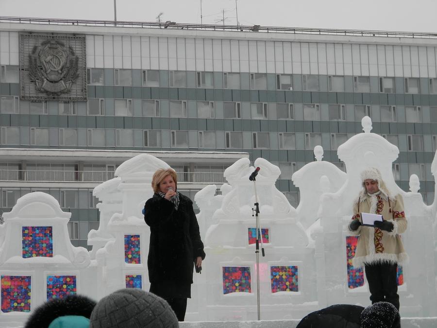 В Перми стартовал Кубок России по снежной скульптуре