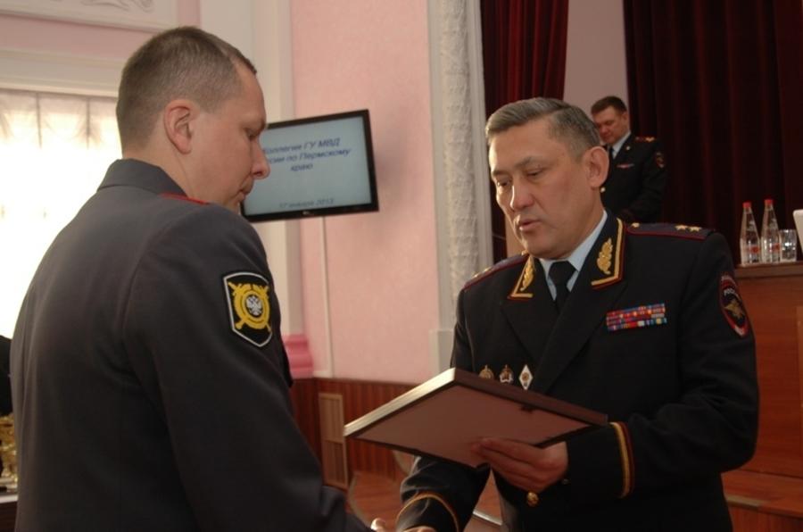 В Пермском крае награждены полицейские-победители