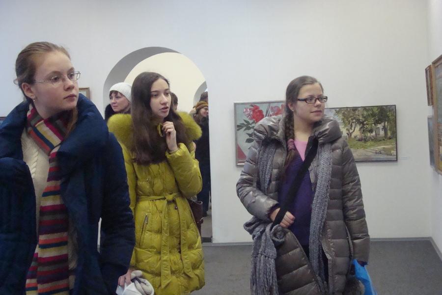 В пермском Доме художника открылась выставка «Пленер-2012» - фото 1