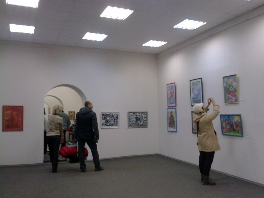 В пермском Доме художника выставлена «Красавица»