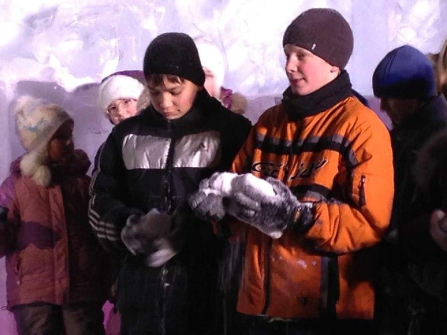 Пермяки в Ледовом городке впали в детство - фото 1