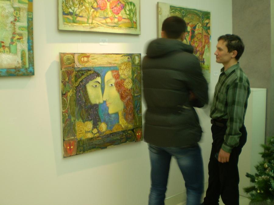 """В Перми открылась выставка Ольги Гаспарян """"Hortus Conclusus"""""""