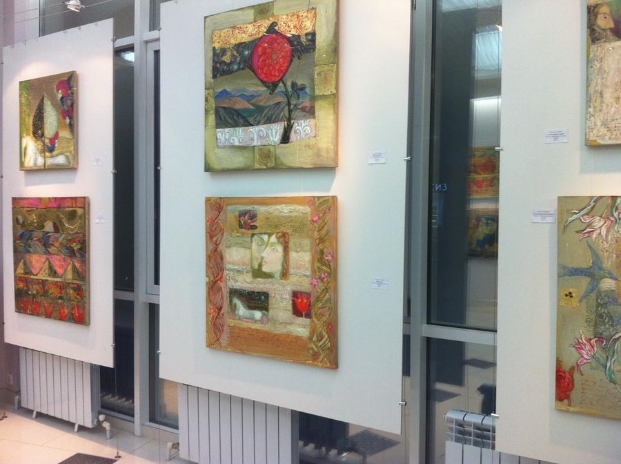 """В Перми открылась выставка Ольги Гаспарян """"Hortus Conclusus"""" - фото 3"""
