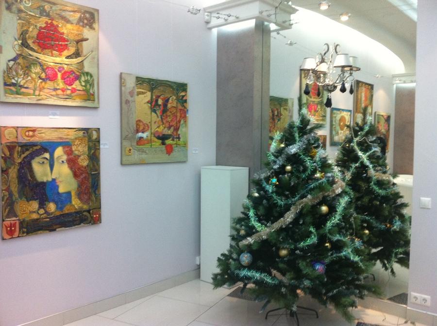 """В Перми открылась выставка Ольги Гаспарян """"Hortus Conclusus"""" - фото 4"""