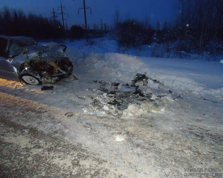 На автодороге Кунгур — Соликамск погиб в ДТП водитель Спектры - фото 1